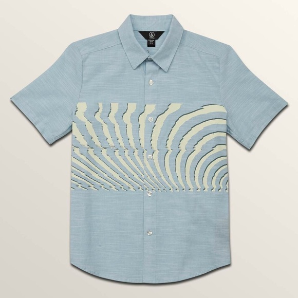 VOLCOM Big Boys Blocked Short Sleeve Shirt